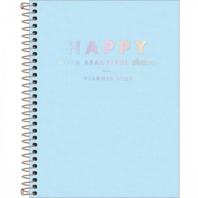 Planner Happy Grande 2021 Azul