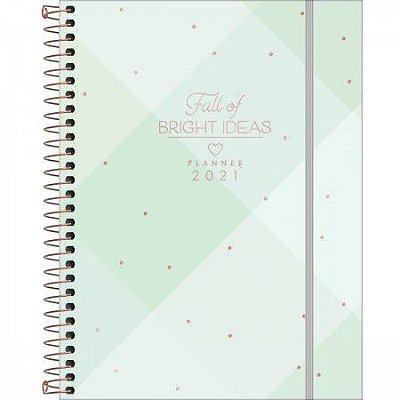 Planner 2021 Soho Verde Pastel
