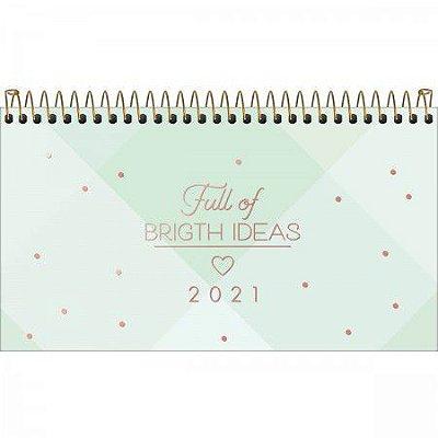 Agenda de Bolso 2021 Soho Verde Pastel