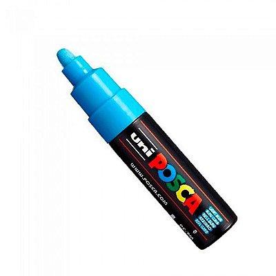 Caneta Posca - PC-7M Azul Claro