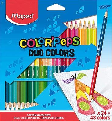 Conjunto de Lápis Color' Peps Duo 38 Cores