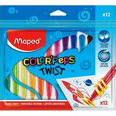 Giz de Cera Color' Peps Twist