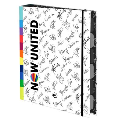 Caderno Argolado Now United