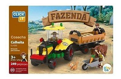 Brinquedo Lego Fazenda 247 Peças