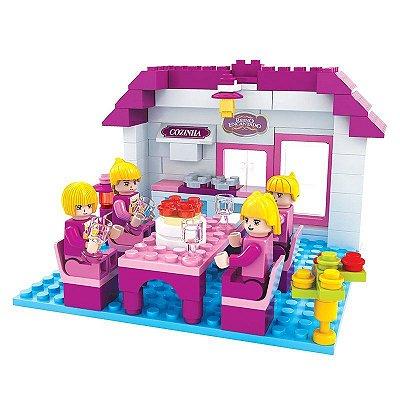 Brinquedo de Lego Cozinha 148 Peças