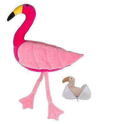 Bichos Grávidos Flamingo com Filhote
