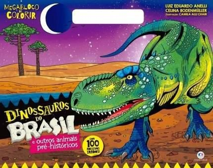 Livro de Colorir Dinossauros do Brasil
