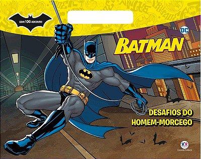 Livro de Colorir Desafio do Homem-Morcego