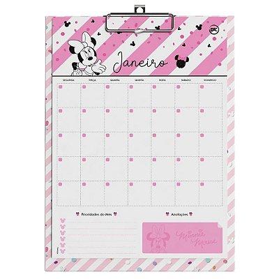 Calendário Planner Permanente Minnie Mouse