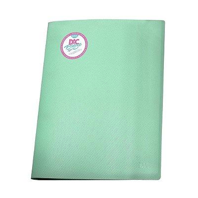 Pasta Catalogo c/10 Verde Pastel