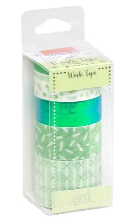 Kit Washi Tape Verde
