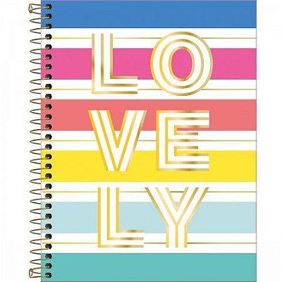 Caderno Lovely 160 Folhas