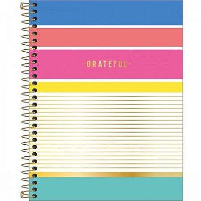Caderno Grateful 160 Folhas