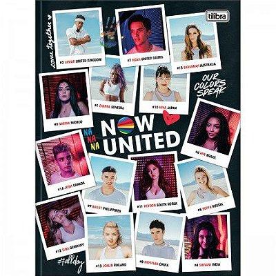 Caderno Brochura Now United Retratos