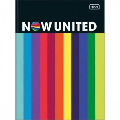 Caderno Brochura Now United Rainbow