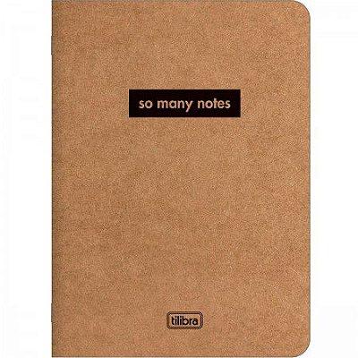 Brochura Kraft Pequena 32 Folhas So Many Notes Fita