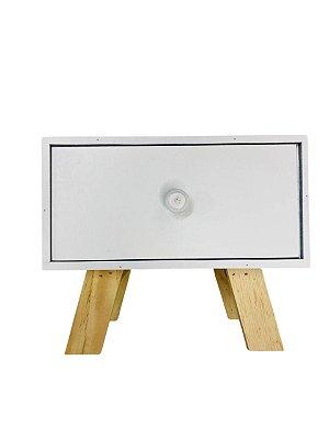 Mini Gaveteiro Branco 1 Gaveta