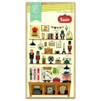 Adesivos Vintage Shop