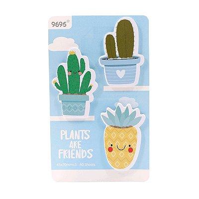 Post It Cactus Azul 60 Folhas