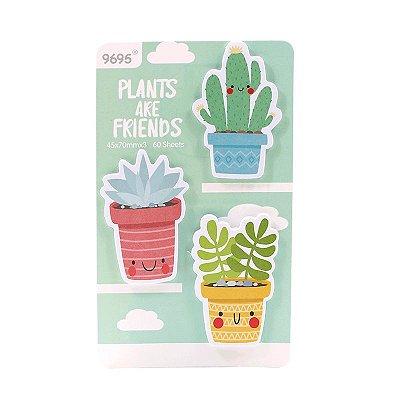 Post It Cactus Verde 60 Folhas
