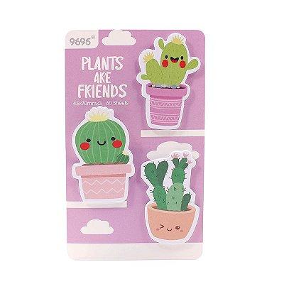 Post It Cactus Lilás 60 Folhas