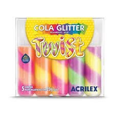 Cola Glitter Twist