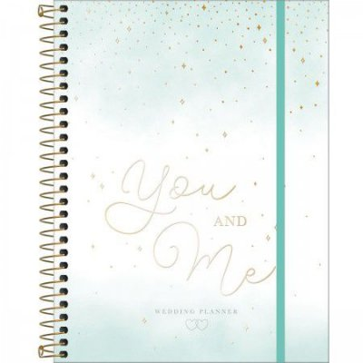 Planner Espiral da Noiva You and Me