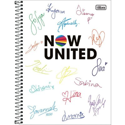 Caderno 10 Matérias Now United