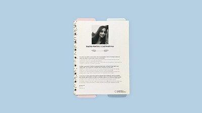 Refil para Planner Sof.Martins
