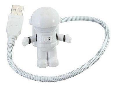 USB e Luminária Astronauta