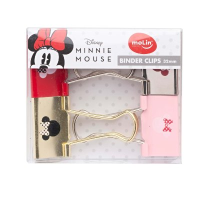 Conjunto 4 Binder Minnie Mouse