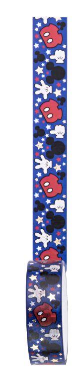 Fita Adesiva Washi Tape Mickey Azul