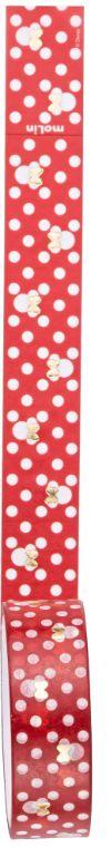 Fita Adesiva Washi Tape Minnie Mouse Vermelha