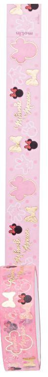 Fita Adesiva Washi Tape Minnie Mouse Rosa