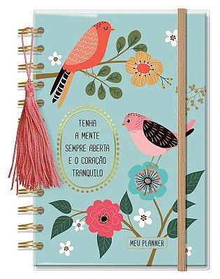 Planner Permanente Pequeno Pássaros