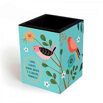 Porta Lápis Pássaros