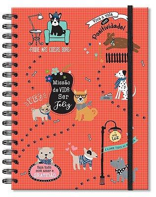 Caderno Cachorro Médio 96 folhas