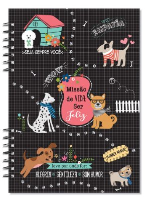 Planner Mensal Compacto Cachorros