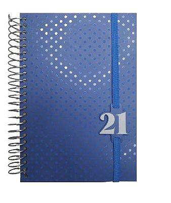 Agenda Diária Média 2021 Poá Azul