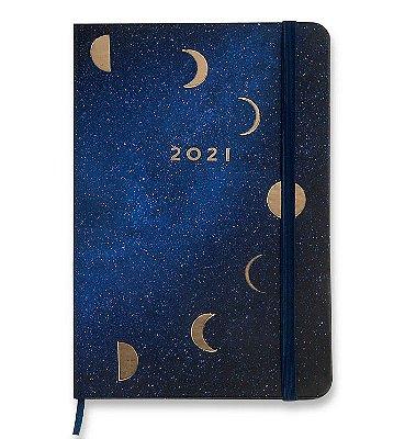 Agenda Planner 2021 Fases da Lua