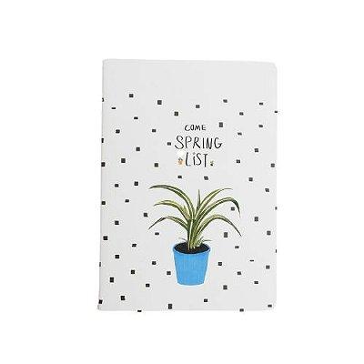 Brochura Pautada Grande Plantas