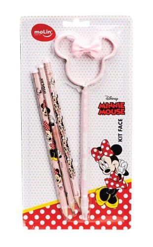 Conjunto de Lápis Minnie Mouse