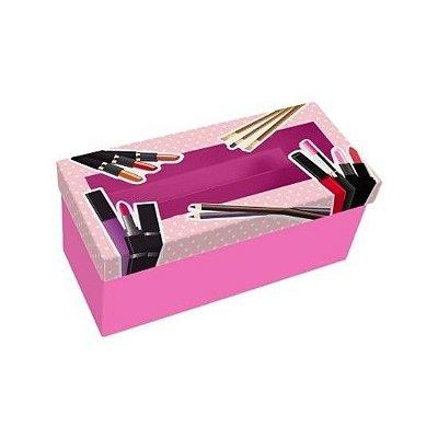Caixa de Batom Poá Rosa