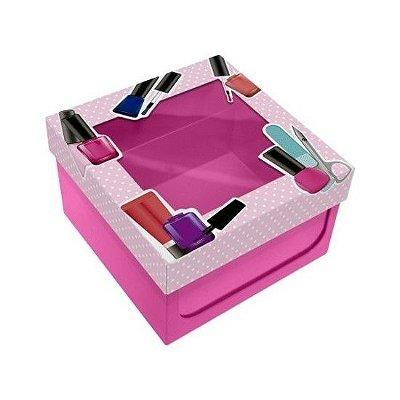 Caixa de Esmalte Poá Rosa