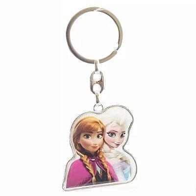 Chaveiro Anna e Elsa Frozen Disney