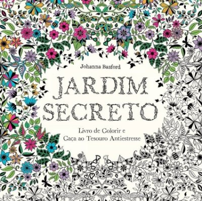 Livro Jardim Secreto