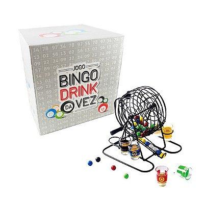 Jogo de Bingo Drink da Vez