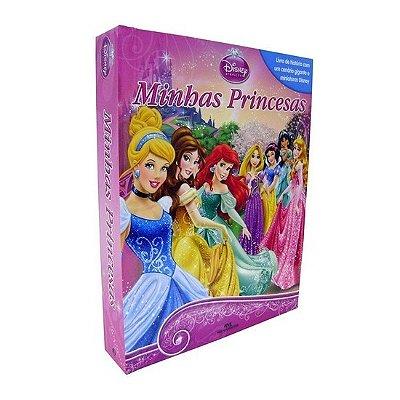 Livro Minhas Princesas com Cenário e Miniaturas
