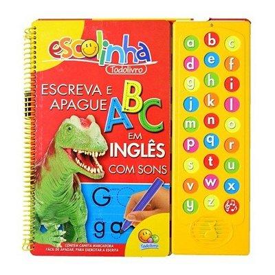 Livro Sonoro Escolinha de Alfabetização - Inglês