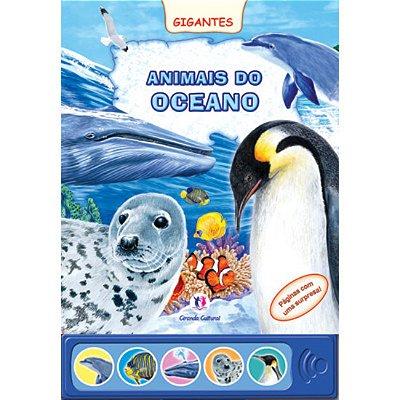 Livro Sonoro Animais do Oceano